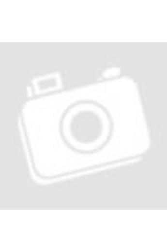 Fekete sneaker fehér talppal